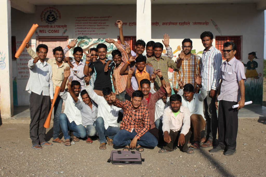 Workshop with Young men and boys
