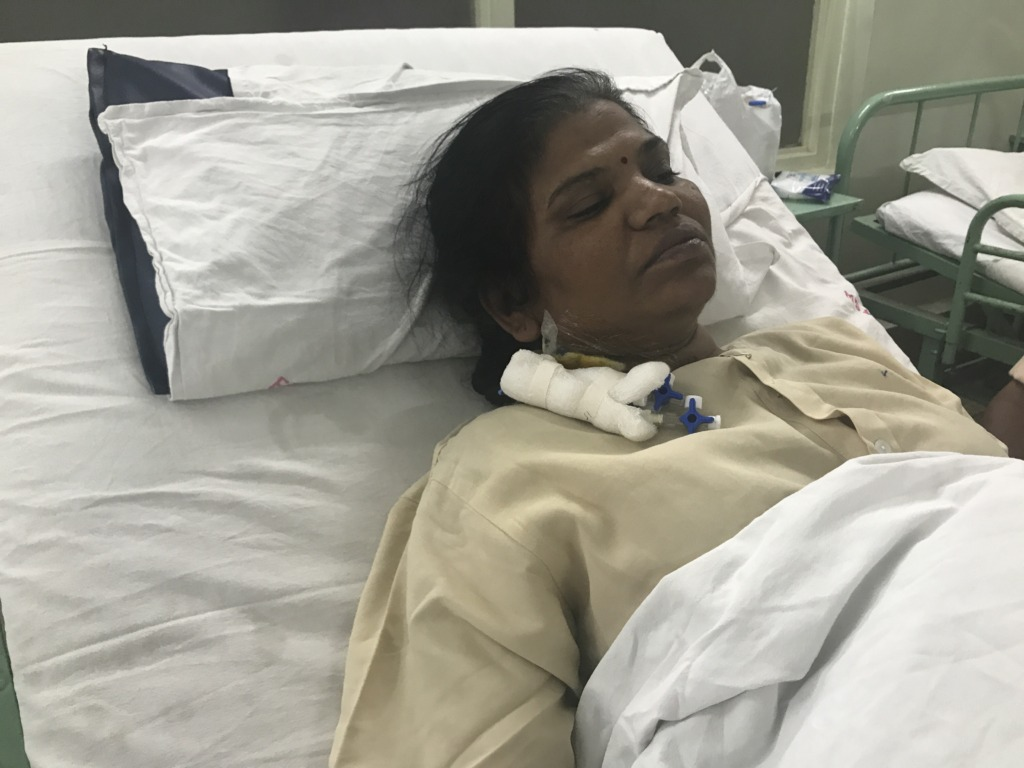 Shifted to general ward after four days in ICU