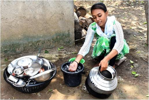 Amrapali responsible for most household chores