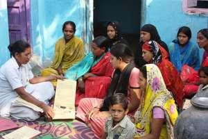 Married adolescent girls receiving antenatal care