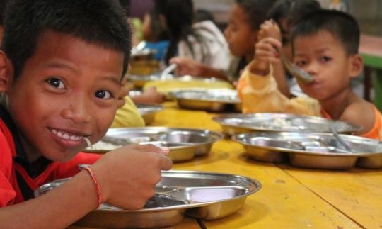 Healthy meals for school children