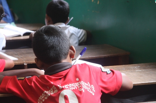 We believe education is the key to a better future