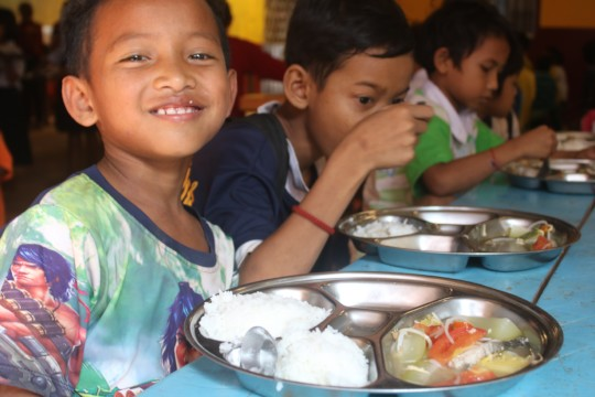 Lunch at our Education Center