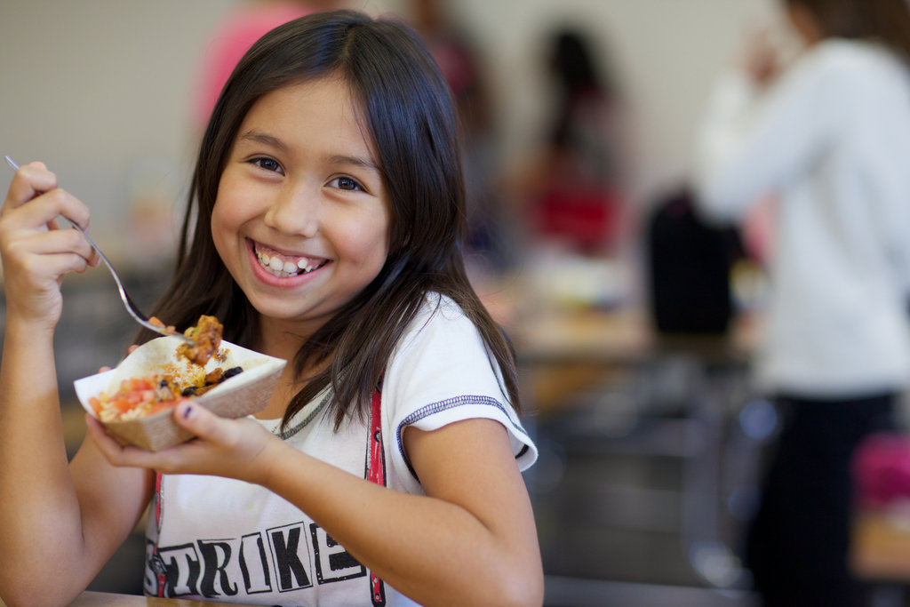 Healthier School Food for Healthier Children