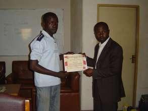 Muhammed's Graduation from LI business classes