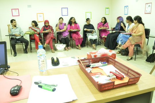 Training on Professional Development of Teachers