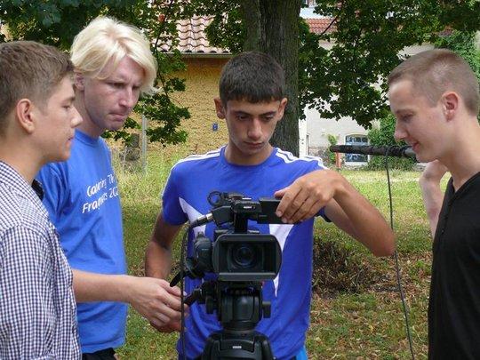 Slava learns shooting.