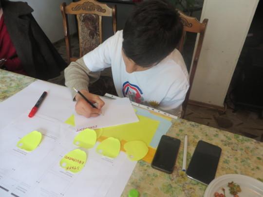 Artyom during work