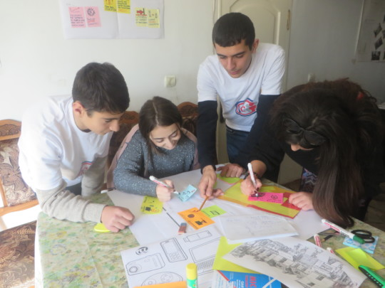 Building teamwork