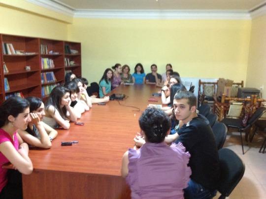 Meeting in Artsakh