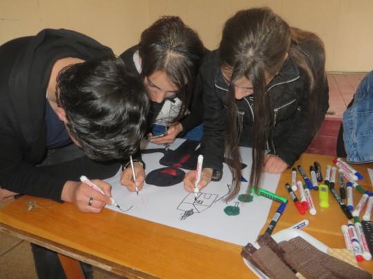 In creative teamwork