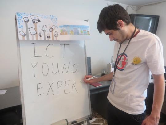 Samvel as a young expert