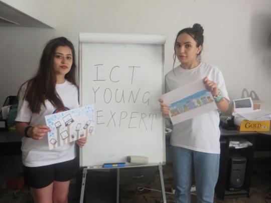 Representatives of young experts