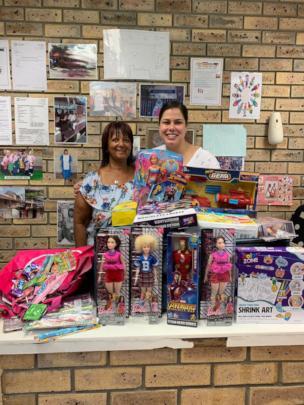 Nada, Principal Sandra and her generous donation
