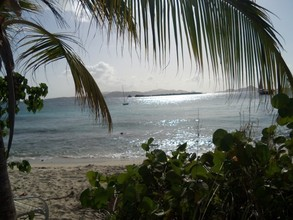 Frank Bay, the VI National Park beach near the SEA