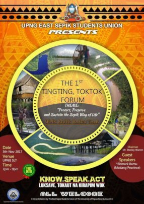 Annual Thinking Talking Forum poster