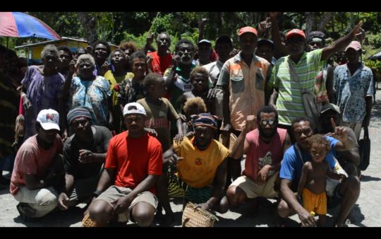 Danu community Say No to Experimental Seabed Mine