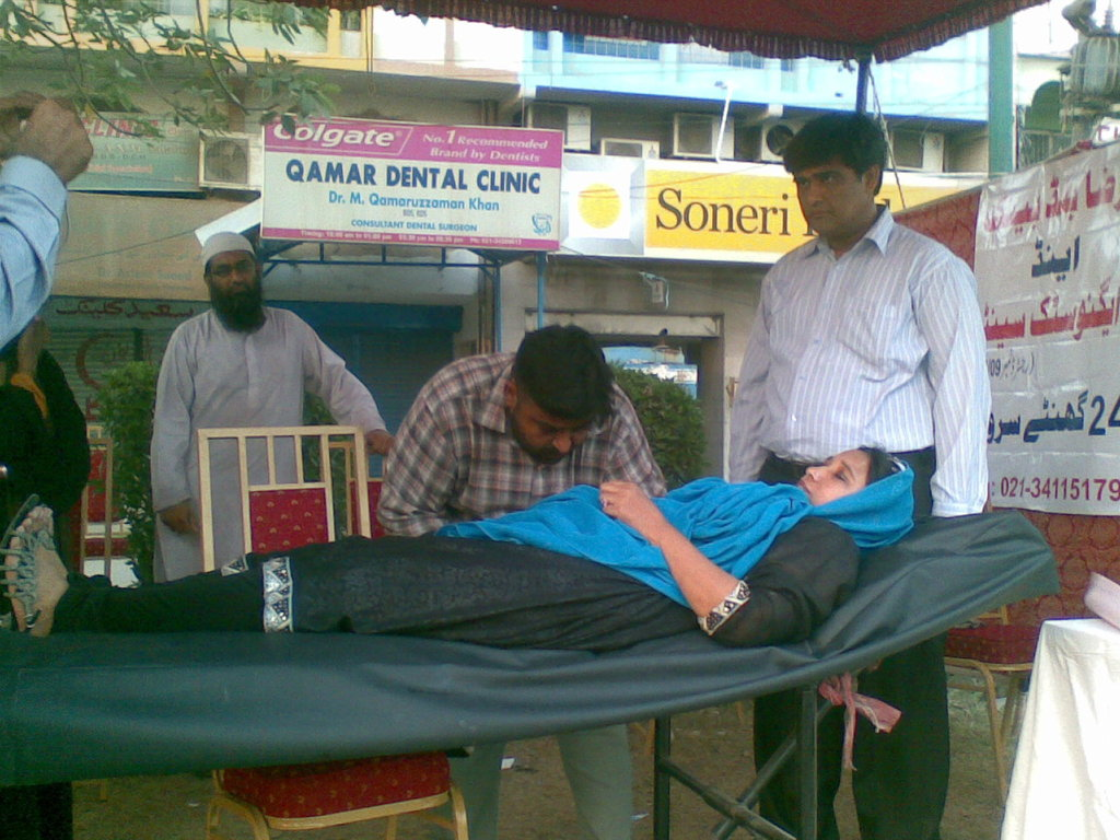 Free Medical camp for 300 patients in Karachi  - GlobalGiving