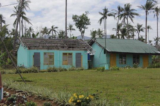 Anibongon School before we started work