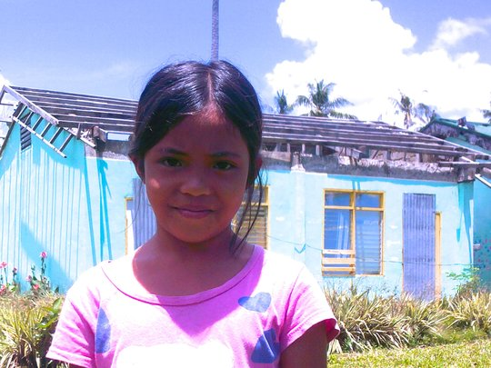 Help us repair Ruth's classroom at Anibongon