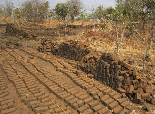 Clinic brick production well under way