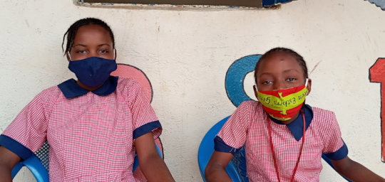 Girls in School Transition Programme enjoy break