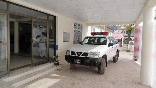 Chikar Center Ambulance
