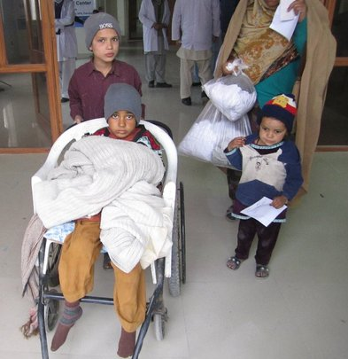 Junaid is one of our special patients