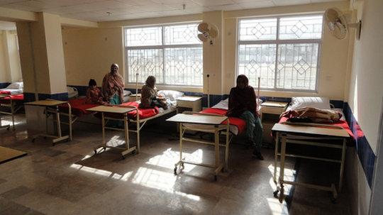 Chikar Center Patient Ward