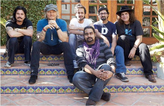 Gilby, Matt, Atif, Sarmad, Lanny & Sameer