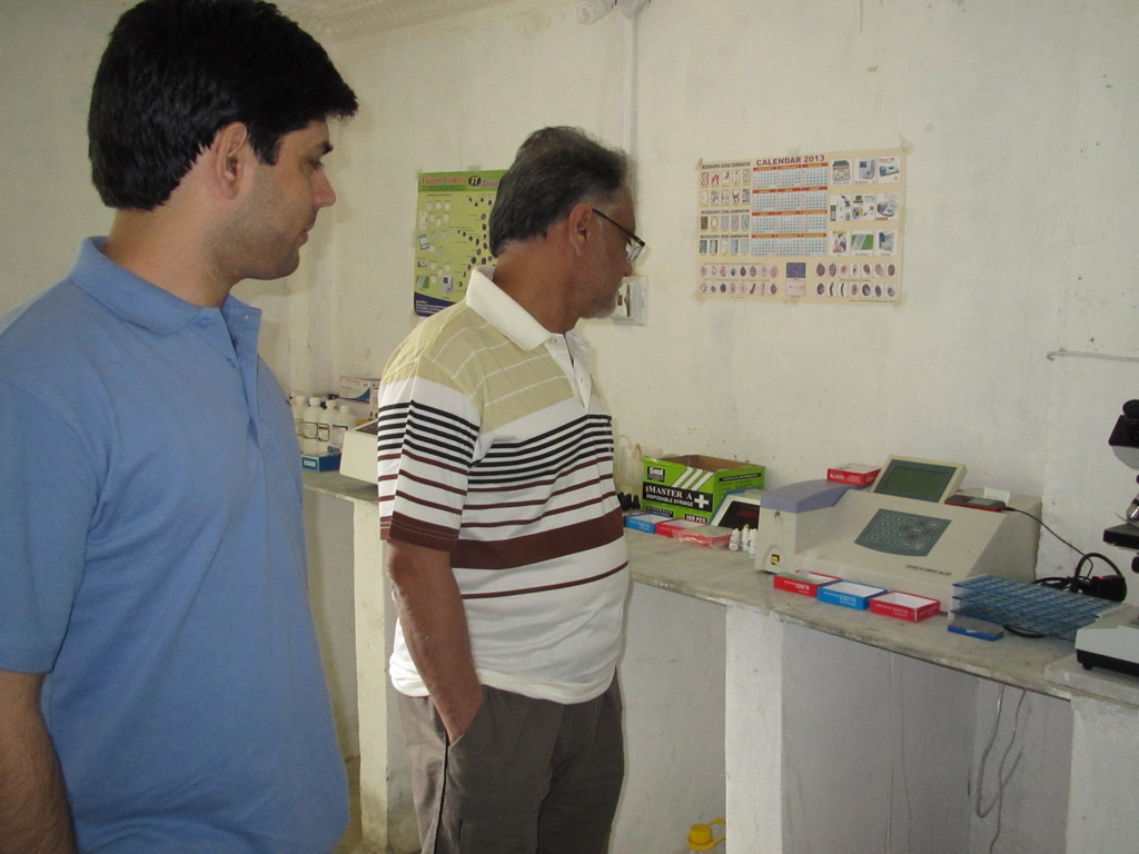 Anwar Iqbal of Dawn News visits our Lab in Swat