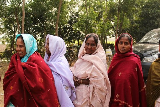 women patients at the centre