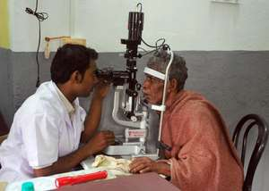 patient provided eye tests