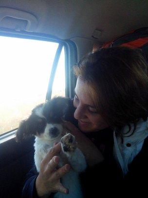 Ranna puppy, the little runt