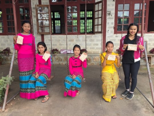 Sewing training for local youth
