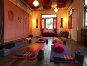 The new Yoga Studio above Sprouting Seeds!