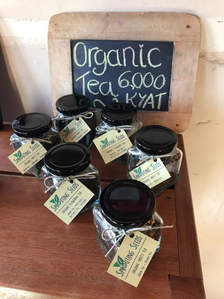 Our new organic teas!!