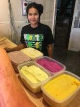 Homemade natural ice cream & gelato