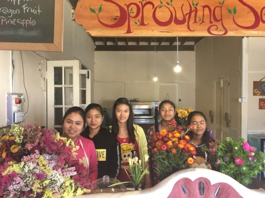 New girls joining Sprouting Seeds Family!