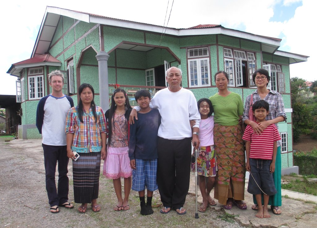 Our dear friends from Mandalay who support our wrk