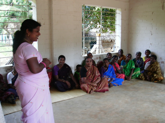 Women's meeting in the Center