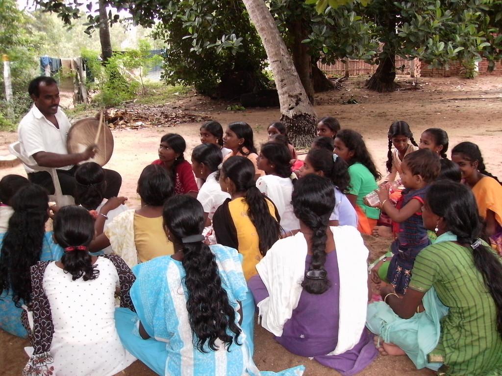 Folk Arts training for girls