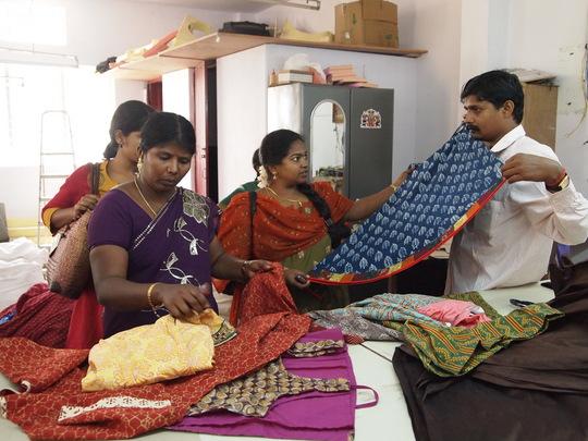 Exposure visit to Garment unit