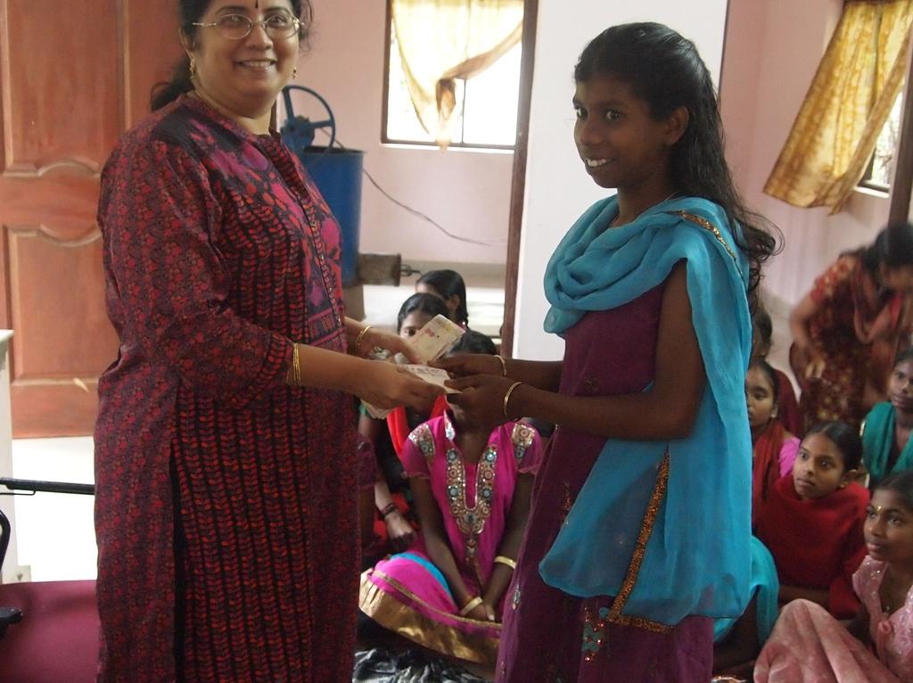 Scholarship distribution