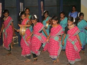 Folk Dance by adoelscent girls