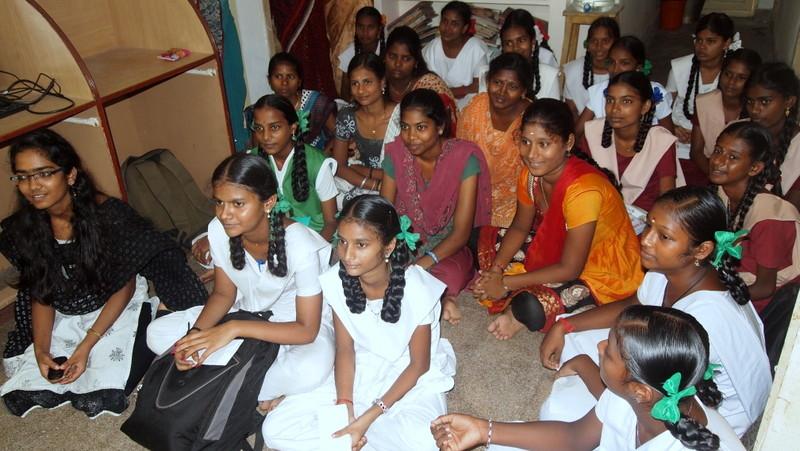 Adolescent girls lifeskill meeting