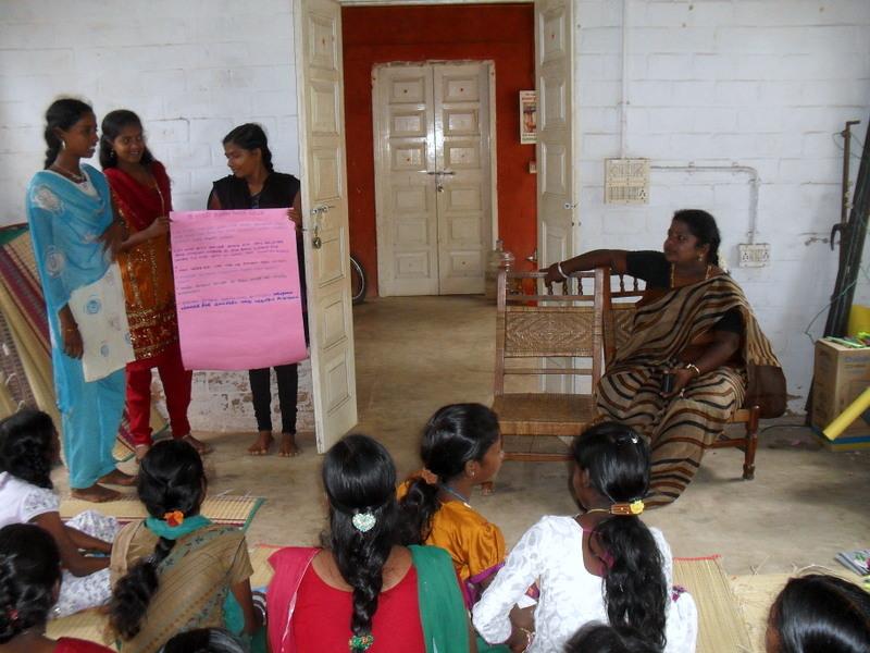 Lifeskill workshop for girls