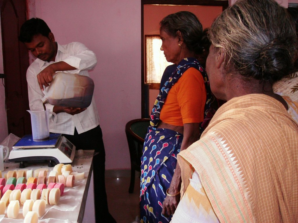 Soap Making training for women