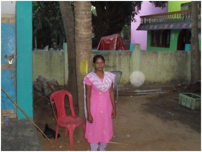 ms.D,Priya studying B.A. English Literature