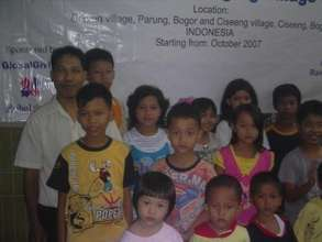 Children who learnt reading the Bible